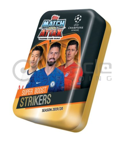 2019-20 Topps Match-Attax Champions League Cards - Mega Tin