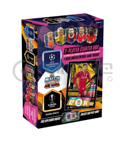 2020-21 Topps Match-Attax Champions League Cards - Starter Box