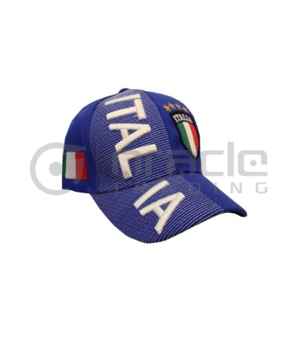 3D Italia Hat - Blue - Kid Size
