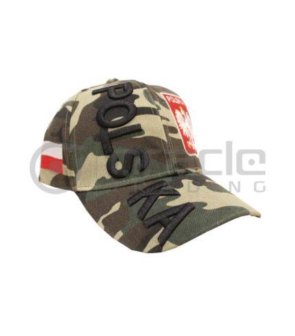 3D Poland Hat - Camo