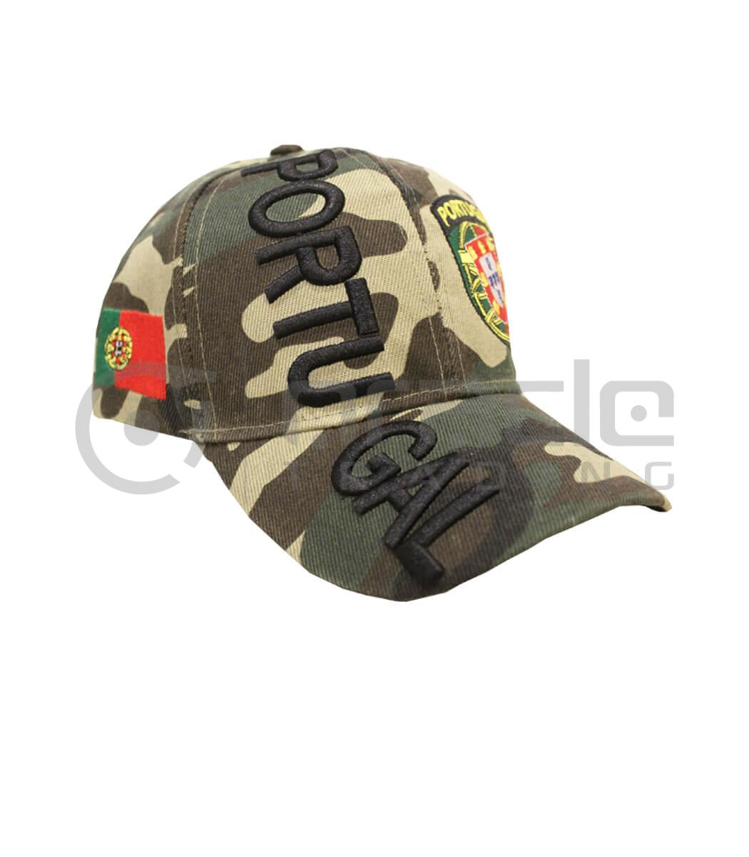 3D Portugal Hat - Camo