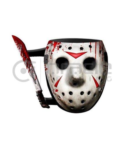Friday the 13th 3D Shaped Mug - Jason Mask