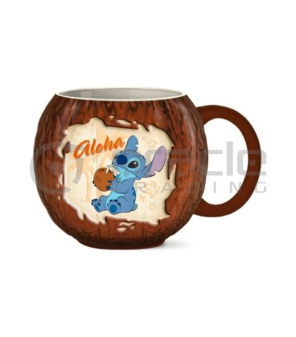 Lilo & Stitch 3D Shaped Mug - Aloha Coconut