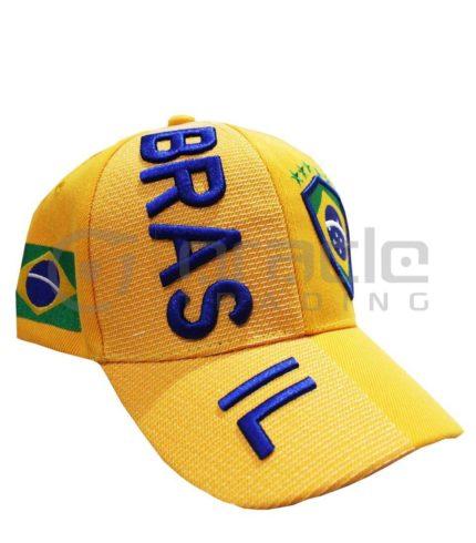 3D Brazil Hat