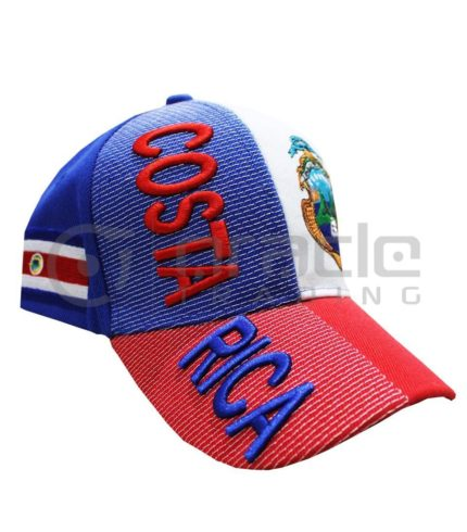 3D Costa Rica Hat