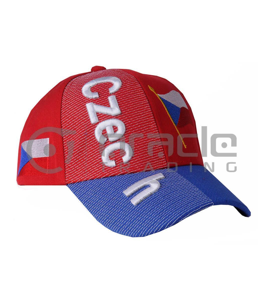 3D Czech Republic Hat
