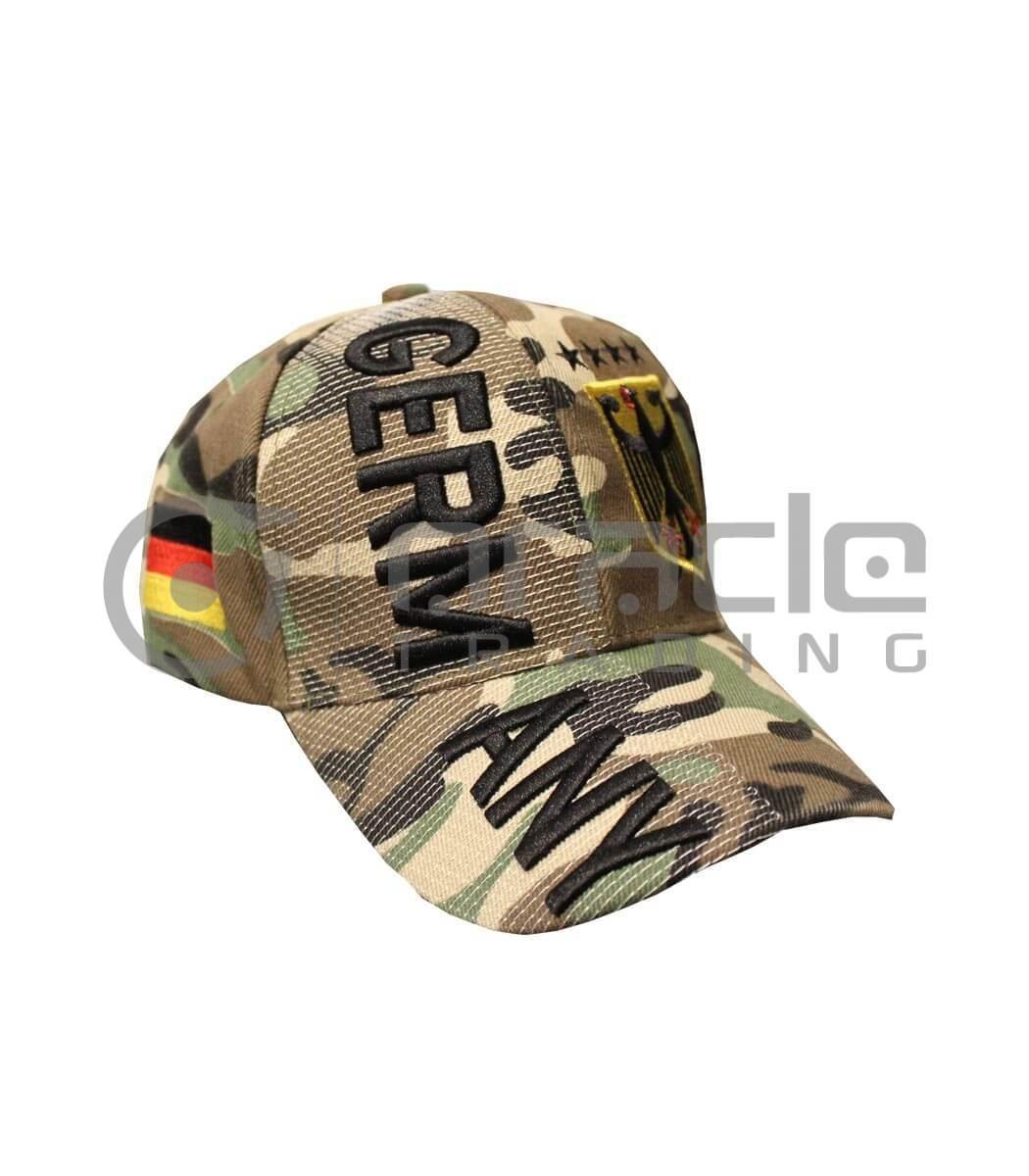 3D Germany Hat - Camo