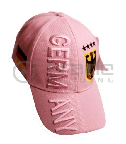 3D Germany Hat - Pink - 4-Star
