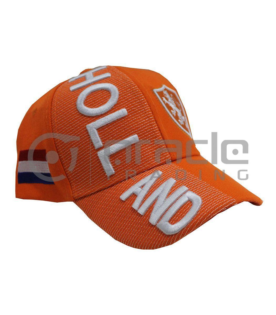 3D Holland Hat - Orange