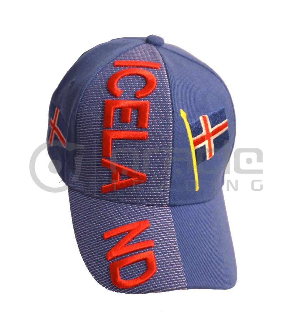 3D Iceland Hat