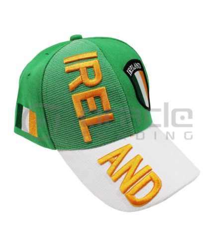 3D Ireland Hat - Shield