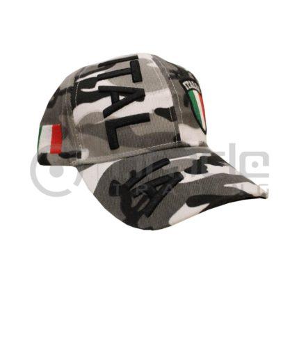 3D Italia Hat - Camo - White