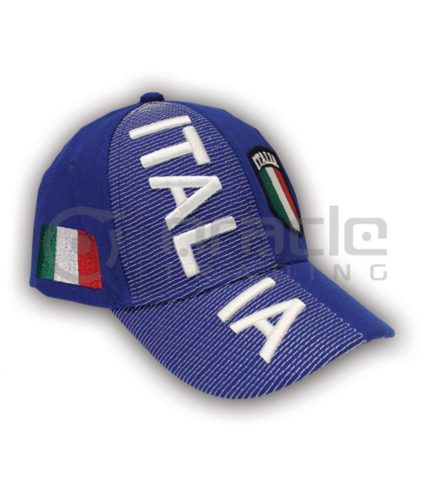 3D Italia Hat - Blue - Kid Size