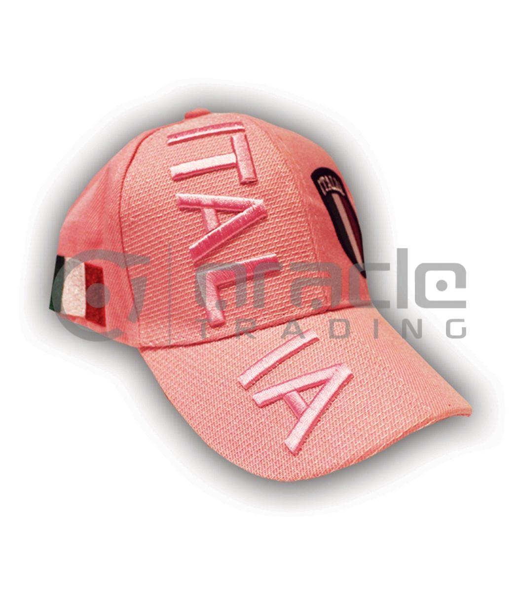 3D Italia Hat - Pink