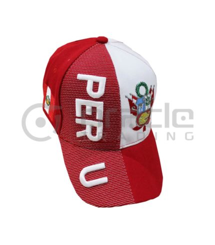 3D Peru Hat