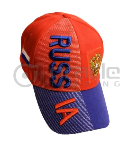 3D Russia Hat