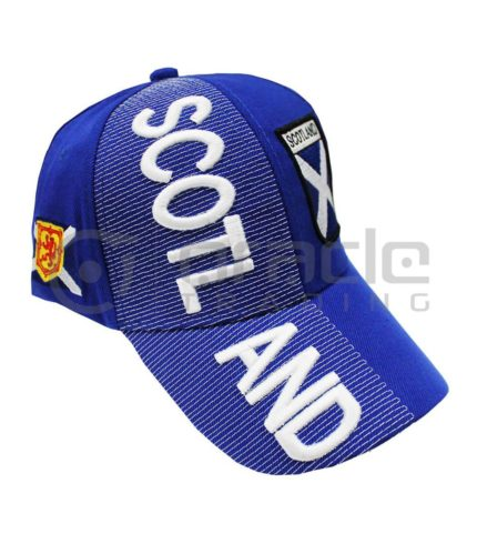 3D Scotland Hat - St. Andrew's Cross