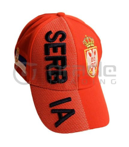3D Serbia Hat