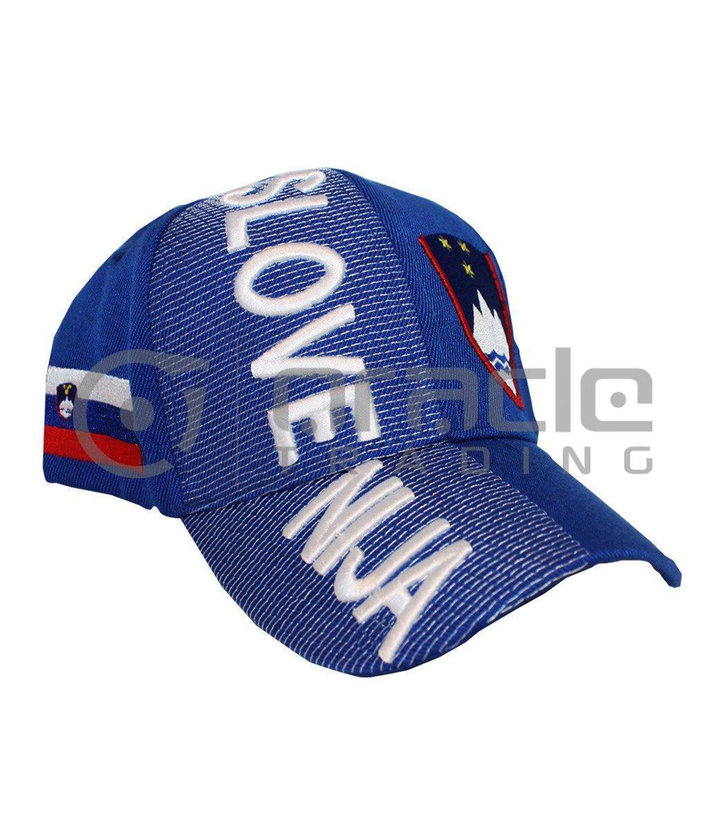 3D Slovenia Hat