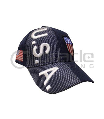 3D USA Hat - Shield