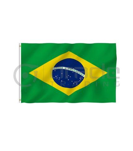 Large 3'x5' Brazil Flag