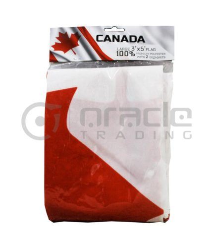 Large 3'x5' Canada Flag