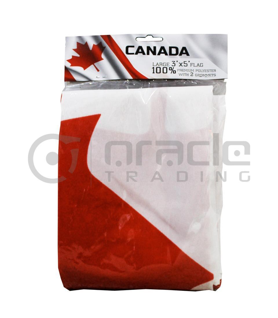Large 3'x5' Canada Flag