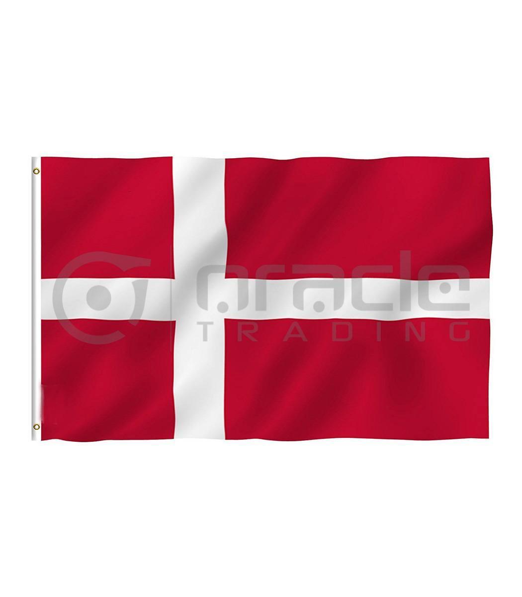 Large 3'x5' Denmark Flag