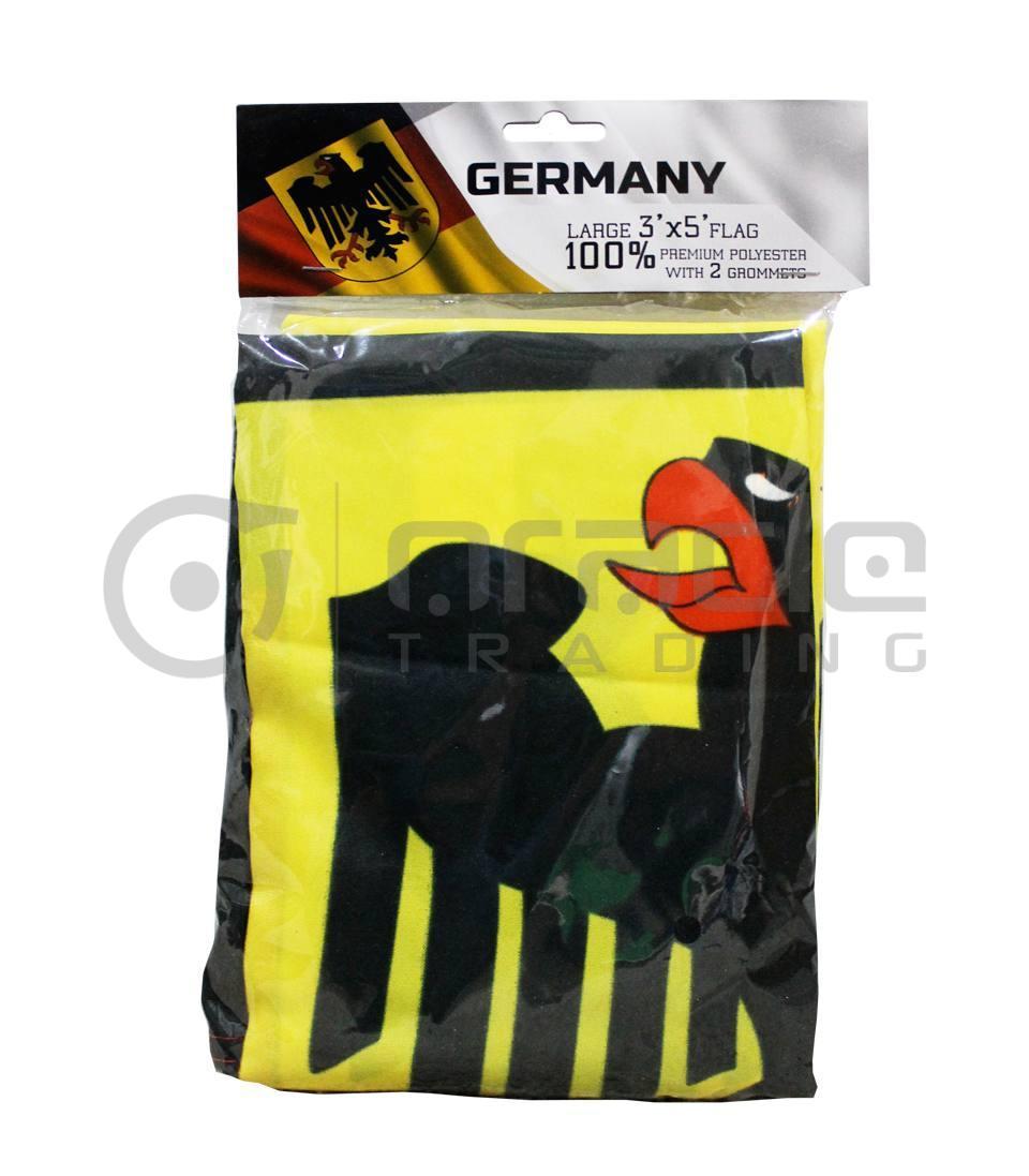 Large 3'x5' Germany Flag - Eagle