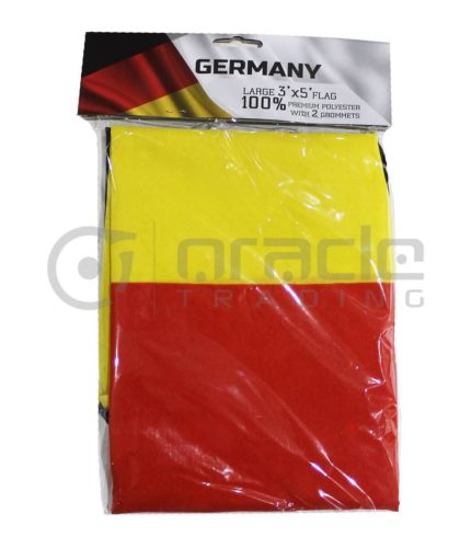Large 3'x5' Germany Flag - Plain