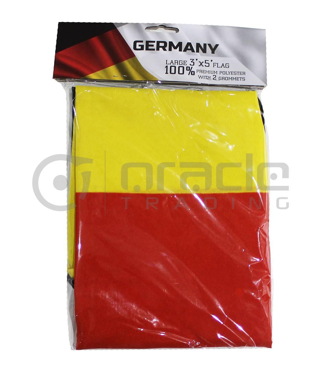 Large 3'x5' Germany Flag - Plain
