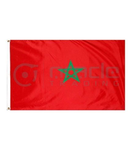 Large 3'x5' Morocco Flag