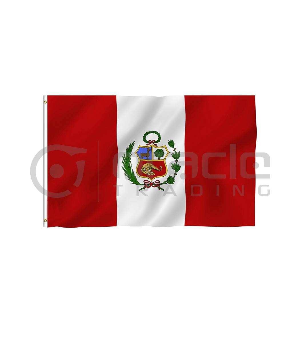 Large 3'x5' Peru Flag