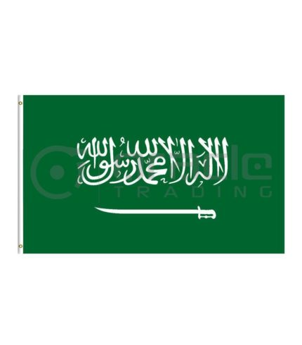 Large 3'x5' Saudi Arabia Flag