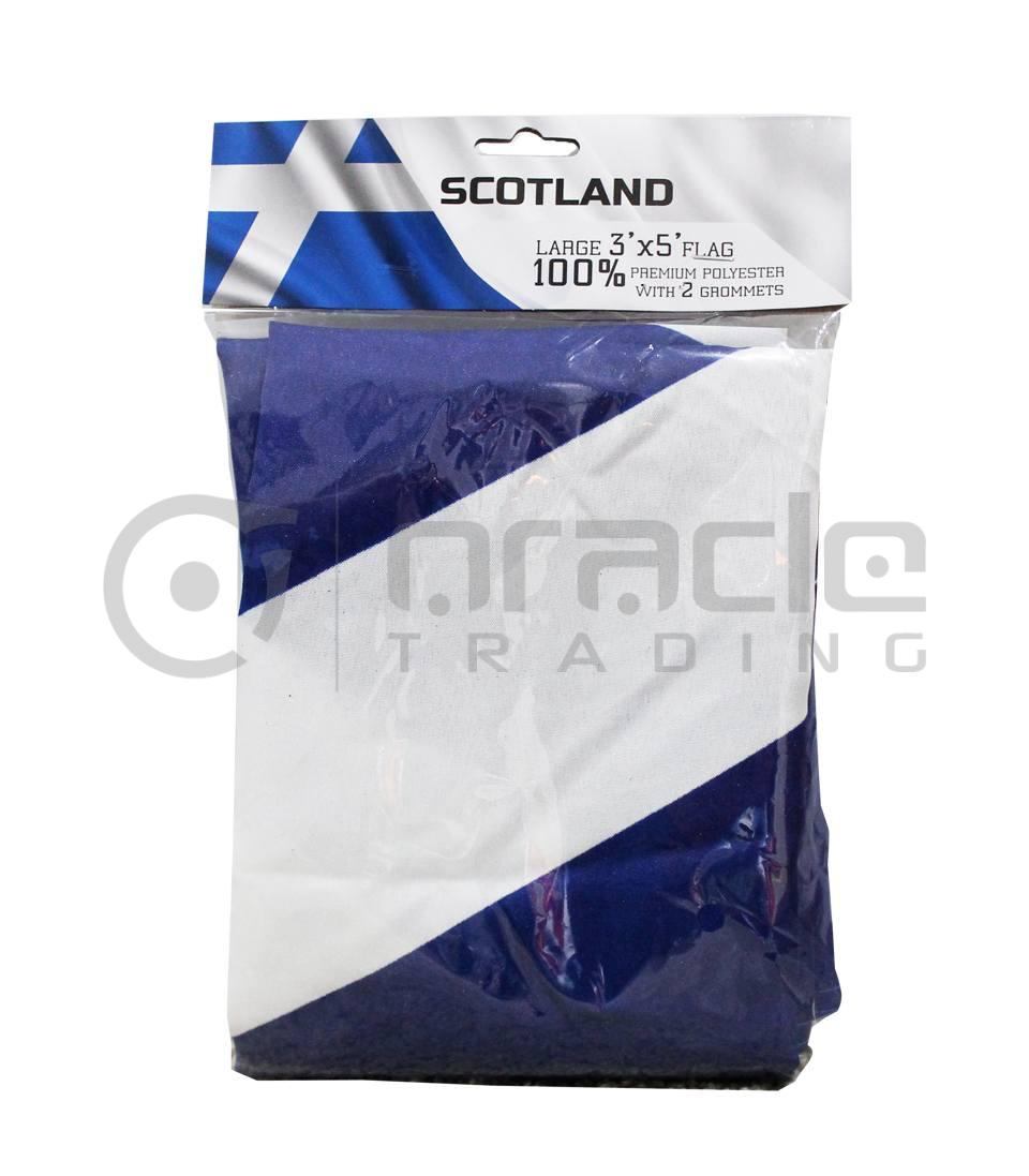 Large 3'x5' Scotland Flag - St. Andrew's
