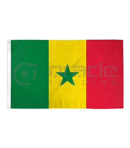 Large 3'x5' Senegal Flag