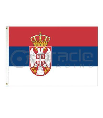 Large 3'x5' Serbia Flag