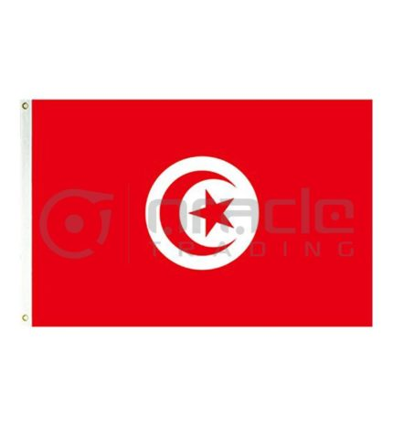 Large 3'x5' Tunisia Flag