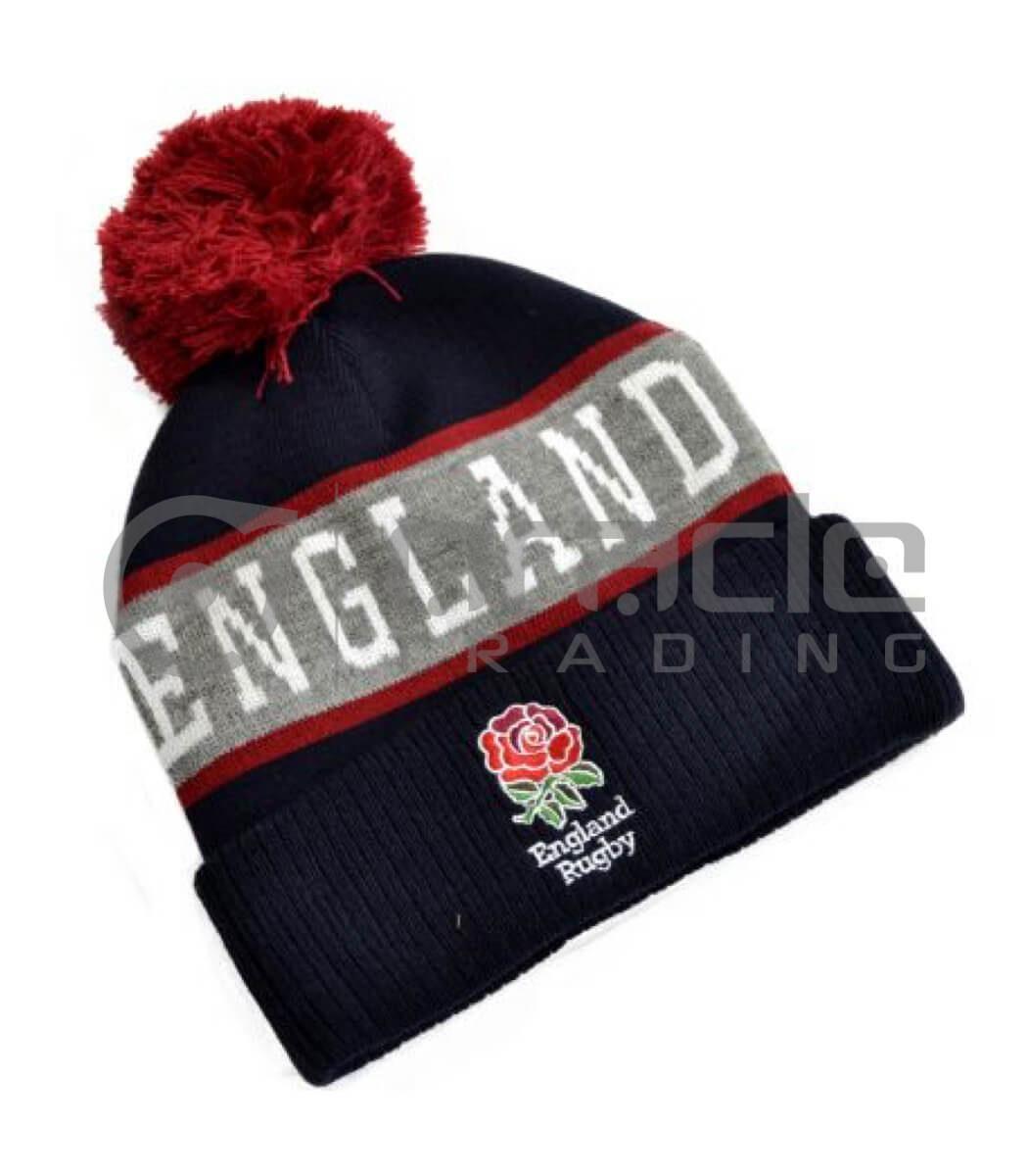England Rugby Pom Beanie