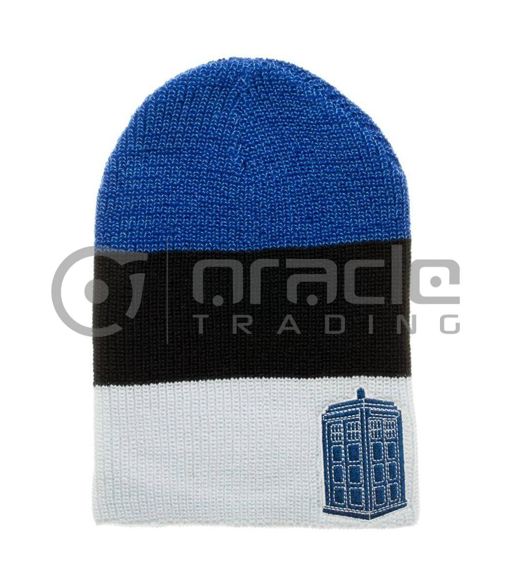 Doctor Who Tardis Slouch Beanie