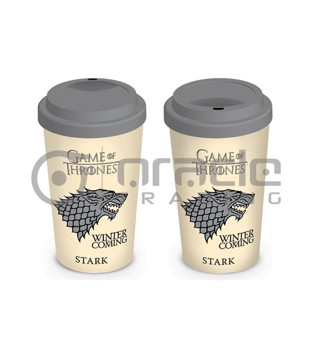 Game of Thrones Stark Travel Mug