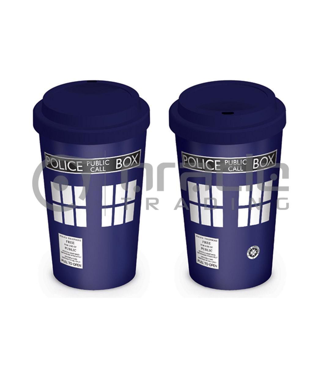 Doctor Who Tardis Travel Mug