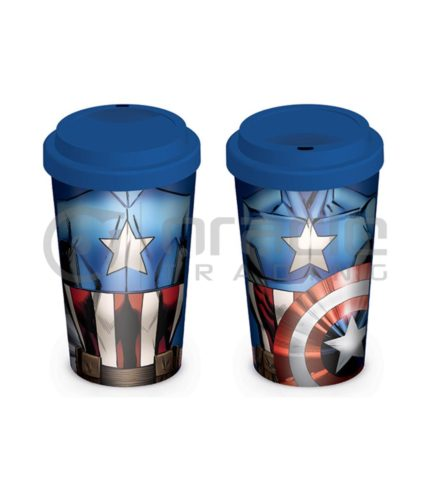 Captain America Travel Mug