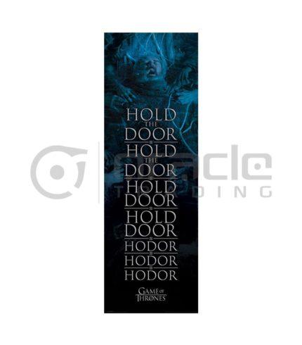 Hodor Door Poster
