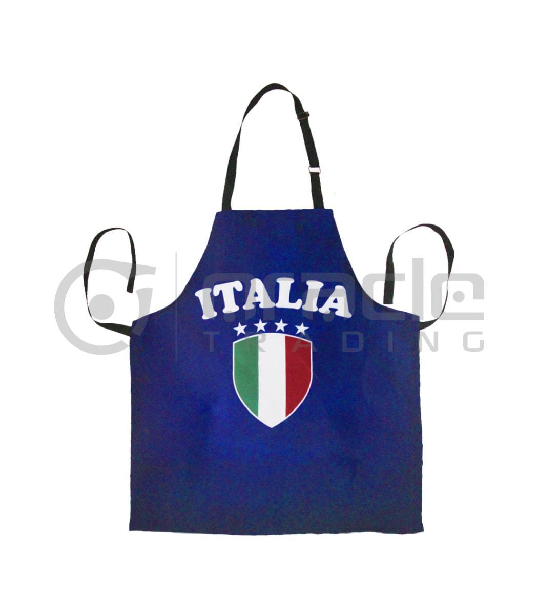 Italia Apron - Navy