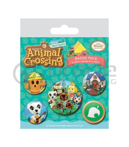 Animal Crossing Badge Pack