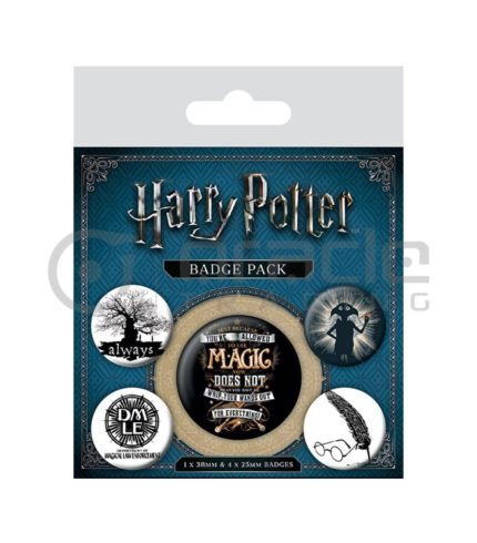 Harry Potter Dobby Badge Pack