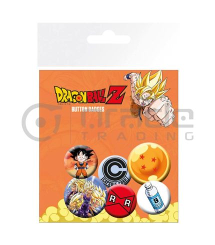 Dragon Ball Z Badge Pack