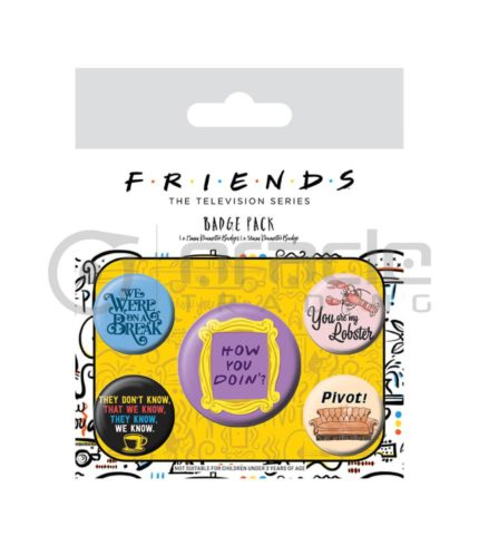 Friends Badge Pack