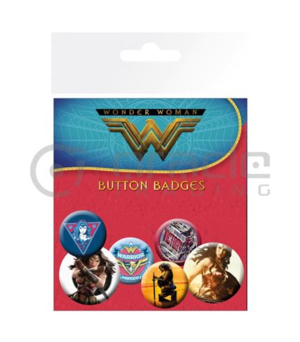 Wonder Woman Gal Gadot Badge Pack